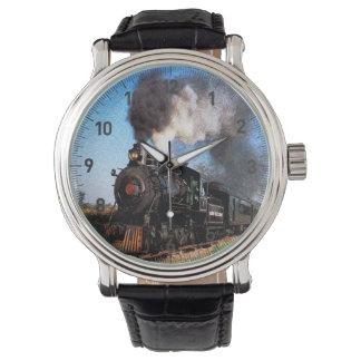 Reloj del tren 2 y opciones del número