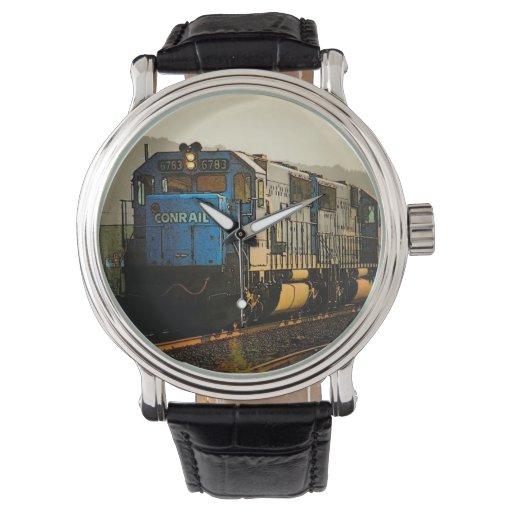 Reloj del tren de Conrail