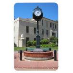 Reloj del tribunal de San Luis Obispo Imán De Vinilo