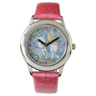 Reloj del unicornio del Faerie