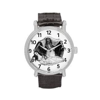 Reloj del vampiro del vintage