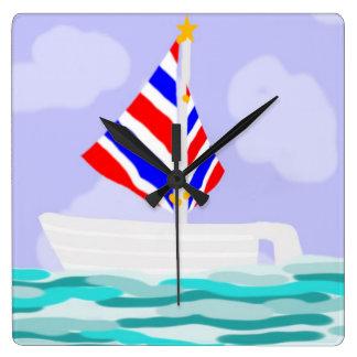 Reloj del velero del verano