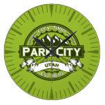 Reloj del verde de Park City