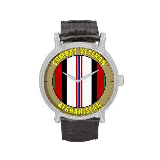 Reloj del veterano de Afganistán