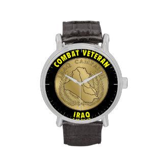 Reloj del veterano de Iraq