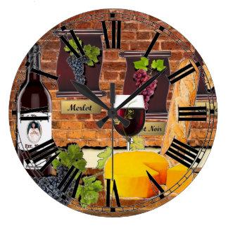 Reloj del vino del viñedo de Beko