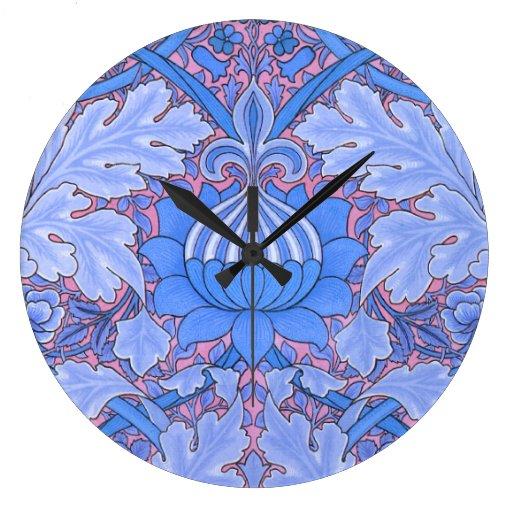 Reloj del vintage de Nouveau del arte de William M