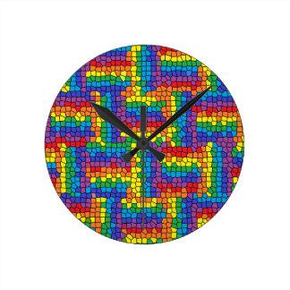 Reloj del vitral
