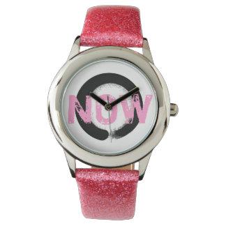 Reloj del zen del rosa del Buddhism del conejito