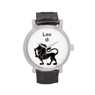 Reloj del zodiaco de Leo