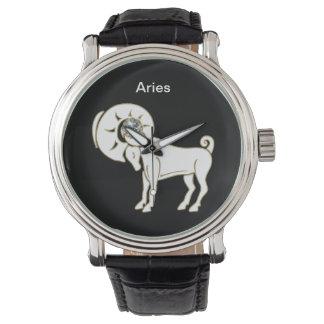 Reloj del zodiaco del aries