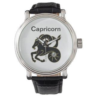 Reloj del zodiaco del Capricornio