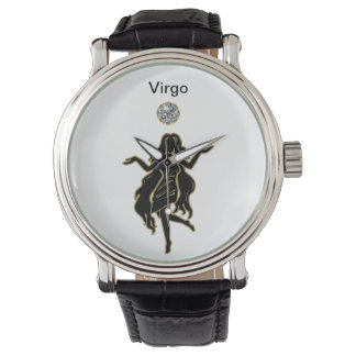 Reloj del zodiaco del virgo