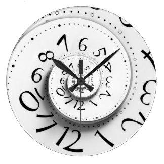 Reloj delantero rápido del espiral del tiempo