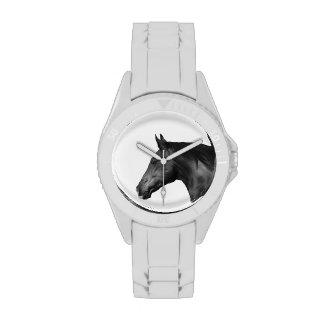 Reloj deportivo de las mujeres del diseño 4 del