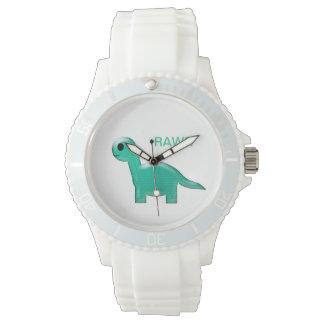 Reloj deportivo del dinosaurio