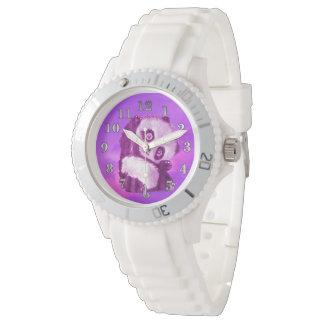 Reloj deportivo del silicio de las mujeres de la