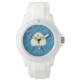 ¡Reloj deportivo feliz de la bola de arroz! Reloj De Mano