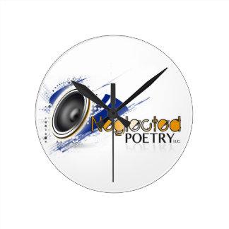 Reloj descuidado de la poesía