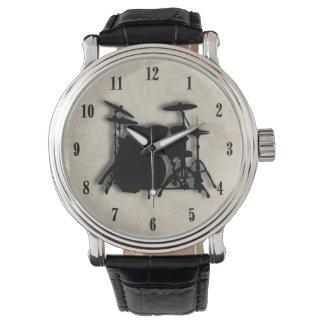 Reloj determinado del tambor