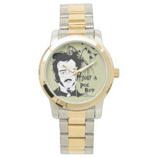 Reloj divertido de la cita de Edgar Allen Poe