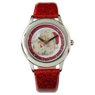 Reloj divertido del ~ de Santa