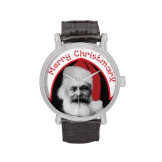 """Reloj divertido del navidad: ¡Regalo de """"feliz Chr"""