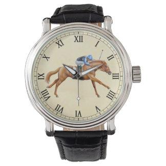 Reloj ecuestre excelente del caballo que compite