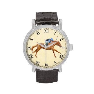 Reloj ecuestre excelente del caballo que compite c