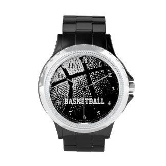 Reloj el | Personalizable del baloncesto con