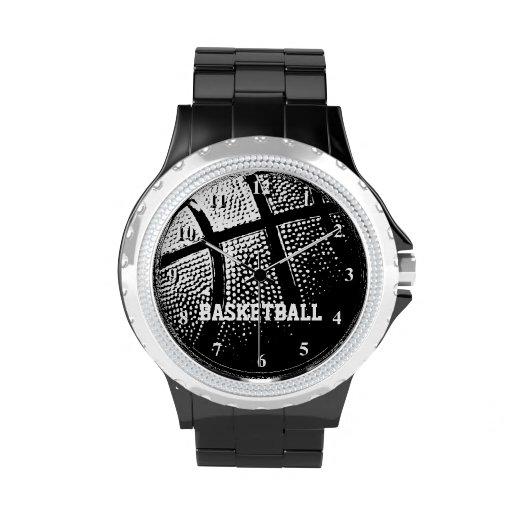 Reloj el   Personalizable del baloncesto con nombr