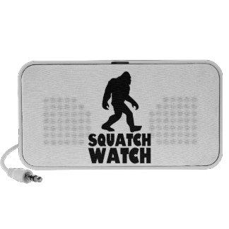 Reloj el Sasquatch Bigfoot de Squatch Altavoces