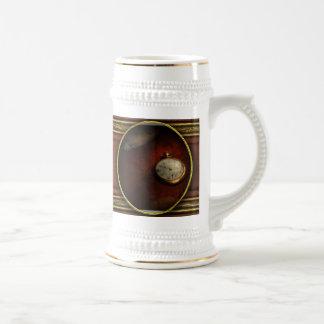 Reloj - el tiempo no espera nada tazas de café