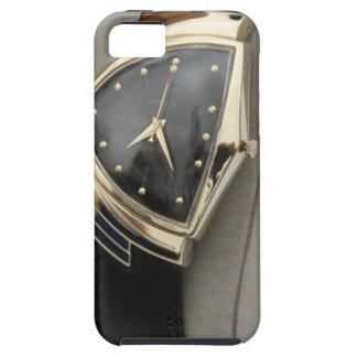 Reloj eléctrico c.1957 de Hamilton Ventura iPhone 5 Case-Mate Cárcasa