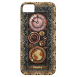 Reloj elegante de Steampunk del vintage iPhone 5 Carcasa