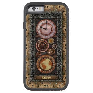 Reloj elegante de Steampunk del vintage Funda Tough Xtreme iPhone 6