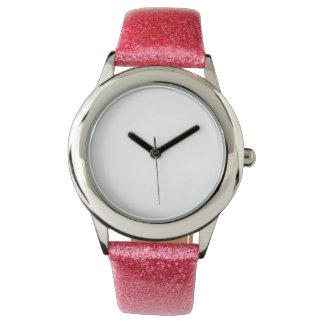 Reloj elegante y del encanto del brillo