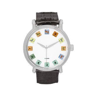 Reloj elemental por CHeMnErDs