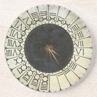 Reloj en el Duomo por Uccello arte renacentista Posavasos Diseño