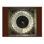Reloj en el Duomo por Uccello, arte renacentista Postales