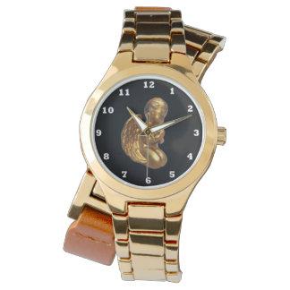 Reloj envuelto para mujer de rogación del ángel