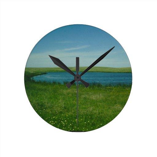 Reloj escénico de las hierbas
