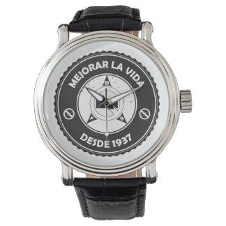 Reloj (español) de la insignia del vintage de PMA