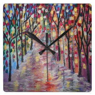 Reloj espiral de la calle