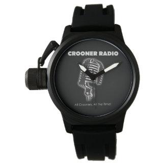 Reloj estupendo de radio del cantante melódico