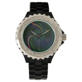 Reloj eWatchFactory beta del diamante artificial