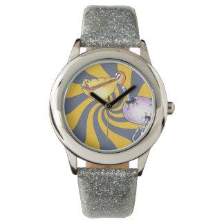Reloj eWatchFactory del brillo libre del pelícano