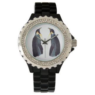 Reloj eWatchFactory del diamante artificial de los