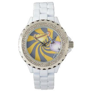 Reloj eWatchFactory del diamante artificial del