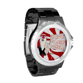 Reloj eWatchFactory gruñón del diamante artificial